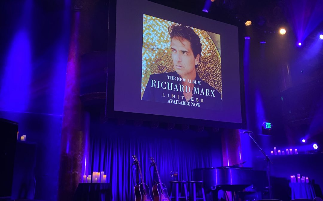 I Went to the Richard Marx Concert and Here's What Happened