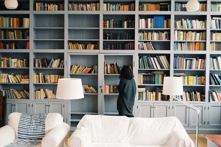 It's National Read a Book Day with Bookshelf Envy: 10 Easy and Functional Bookshelf Styling Ideas